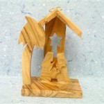 Presepe capanna legno ulivo_1