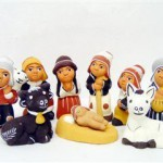 Presepe terracotta 9 figure