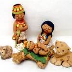 Presepe terracotta indio 5 figure_1