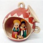 Presepe terracotta vaso