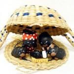 Presepe terracotta nero