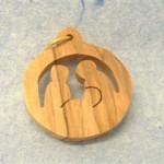 Presepe legno ulivo