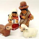 Presepe terracotta 4 figure