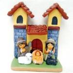 Presepe terracotta chiesetta_1