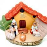 Presepe terracotta casetta